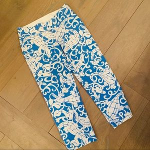 Lilly Pulitzer Baby Gator Cropped Pants 🐊